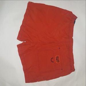 lei Shorts - L.E.I. Athletic Shorts Deep Orange/Red